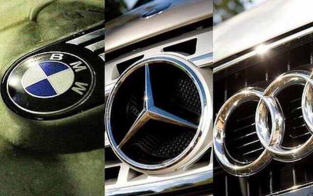 логотипі немецких автомобилей