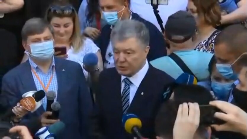 Допрос Порошенко в ДБР