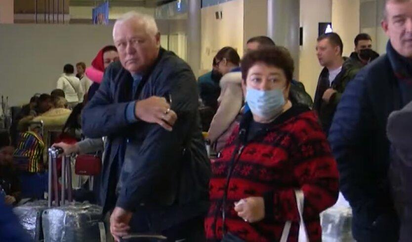 У прилетевшего в Киев украинца обнаружили коронавирус