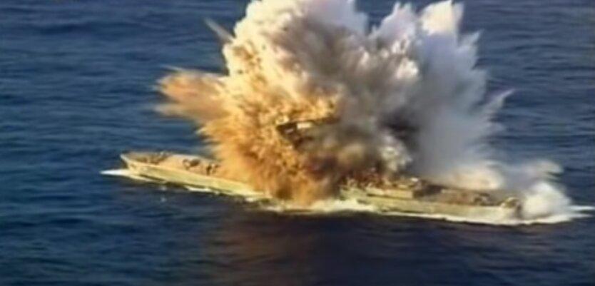 Иран обстрелял свой корабль