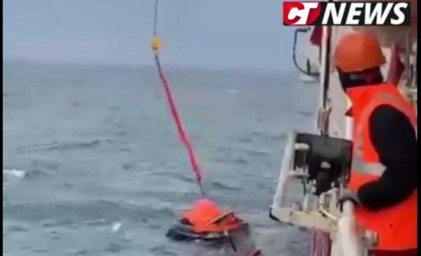 В Черном море затонул сухогруз с украинцами на борту: есть погибшие