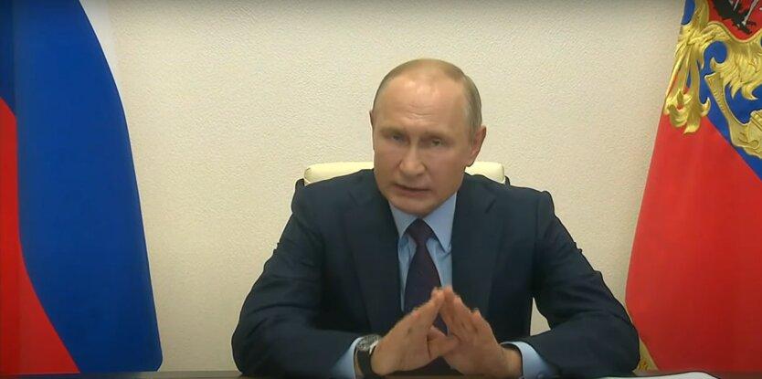 президент России, Владимир Путин, День победы