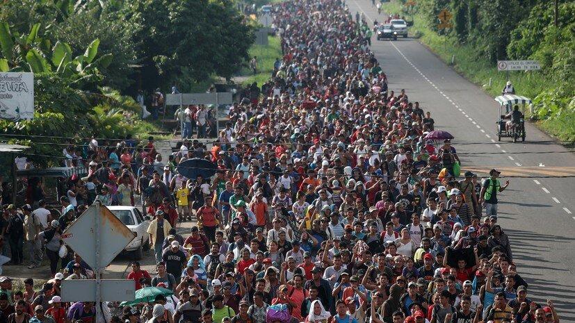 караван мигрантов 2