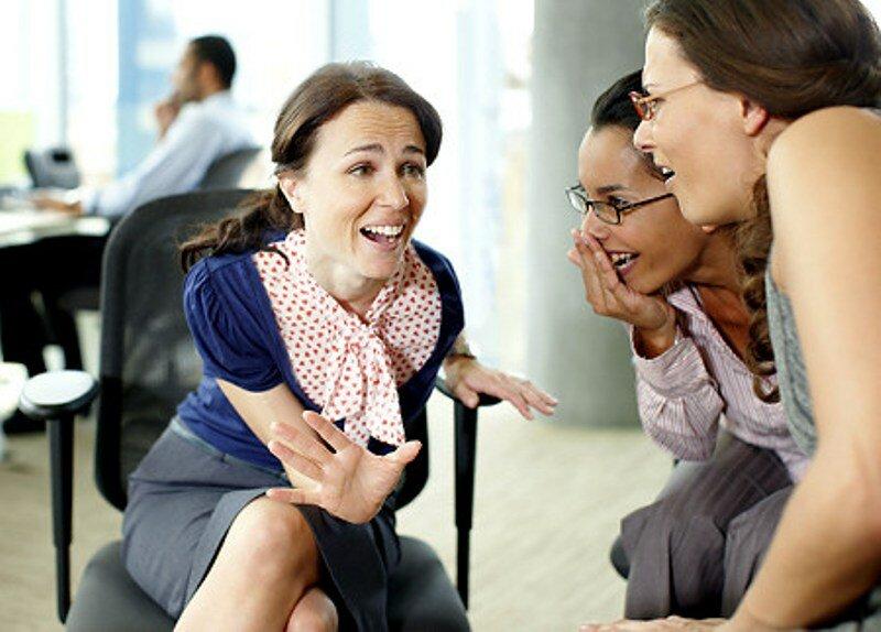 девушки работа разговор