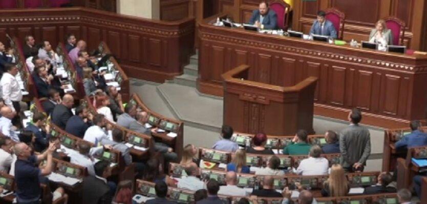 Голосование за законопроект про поддержку бизнеса