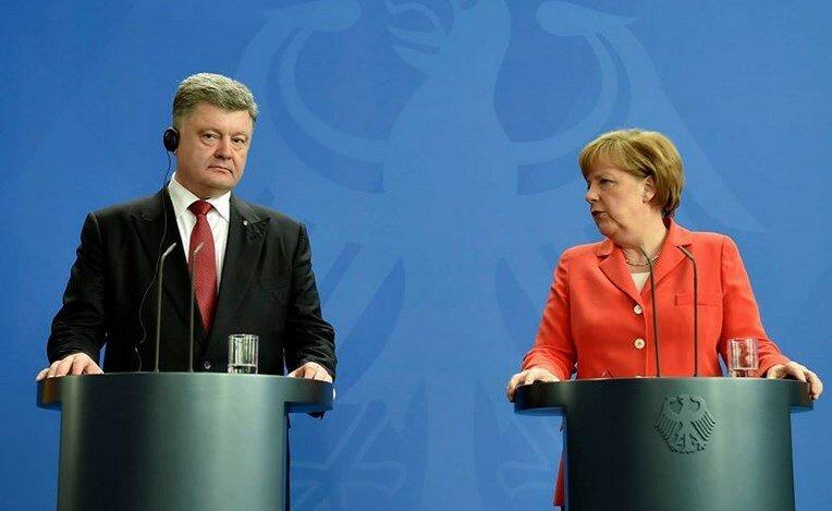 порошенко меркель 2015 май