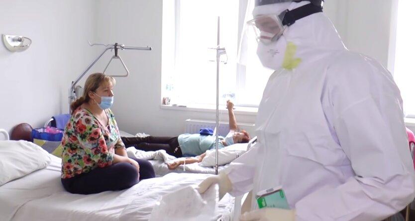 Показатель заболеваемости COVID-19 в Украине