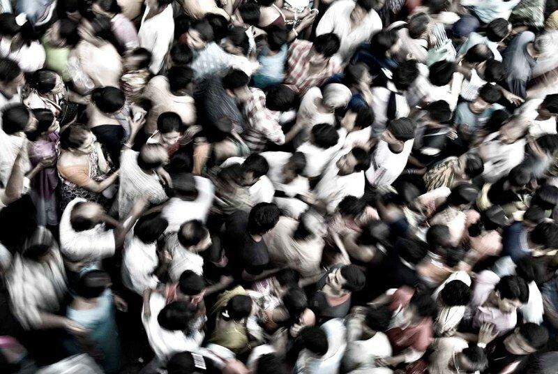 Хаос толпа