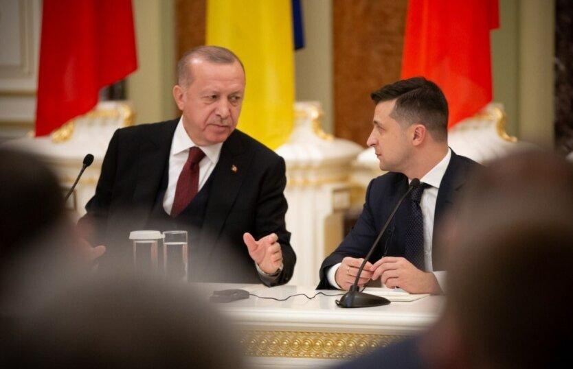 Владимир Зеленский,Реджеп Тайип Эрдоган,украинцы смогут летать в Турцию, отдых в Турции