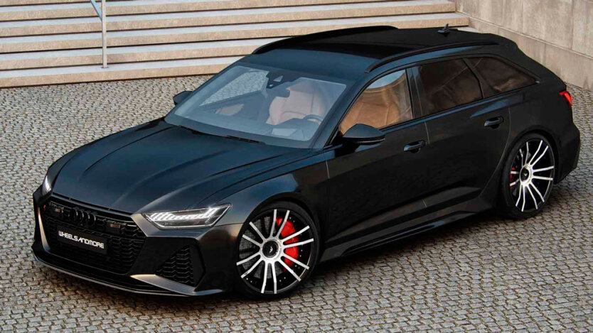 Audi RS6, мощность, Bugatti Veyron