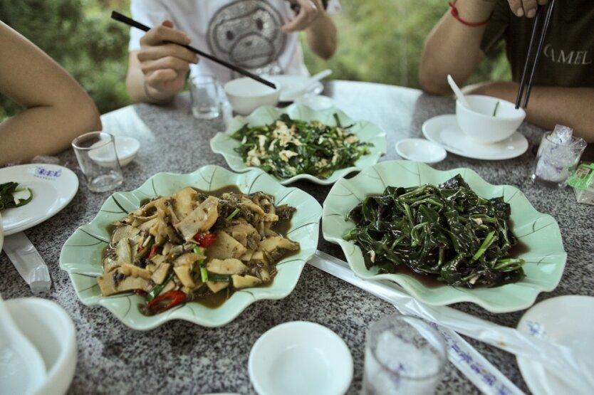 China Food Китайская еда