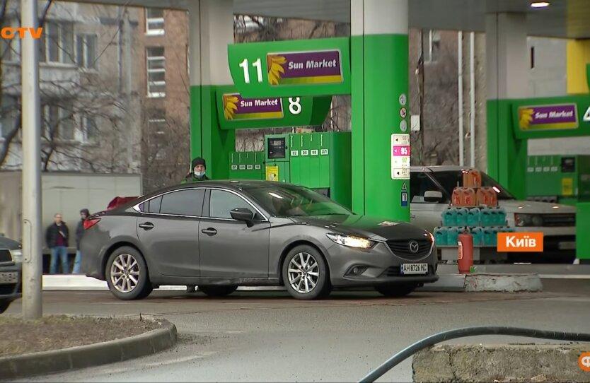 Бензин в Украине, цены на топливо, сети АЗС