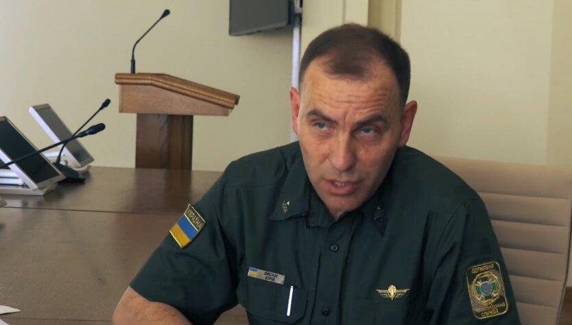 Юрий Лысюк, КПВВ на Донбассе, российские боевики
