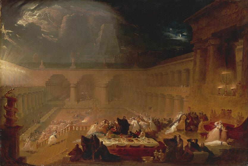 John Martin, Belshazzar's Feast