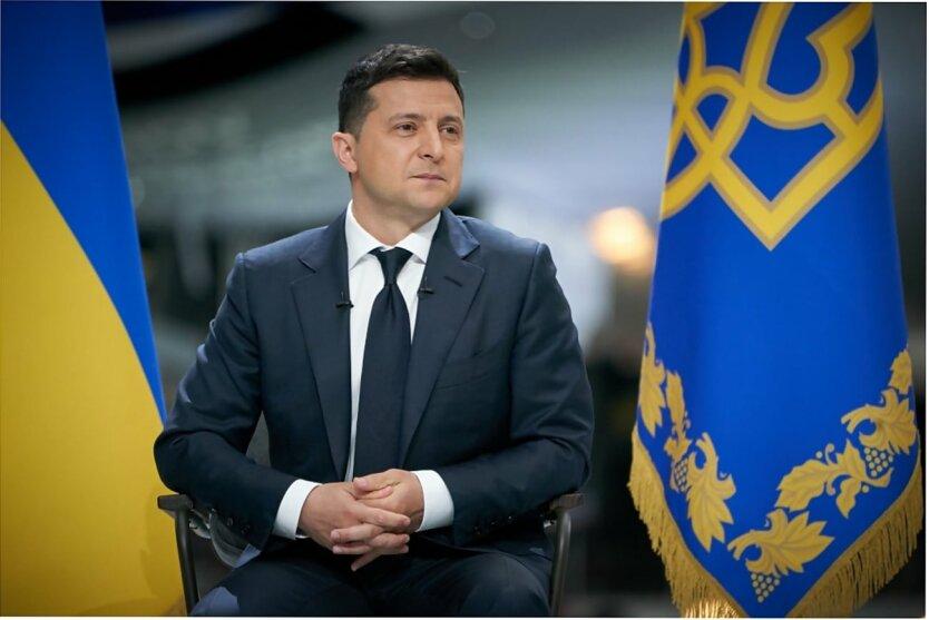 Юрий Романенко, Владимир Зеленский, Пресс-конференция Зеленского
