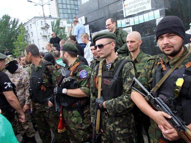 оплот сепаратисты боевики