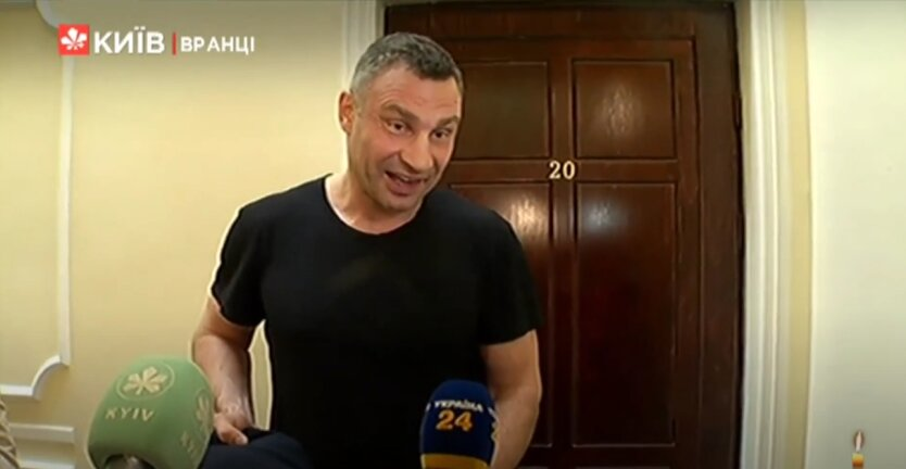 """Кличко прокомментировал визит правоохранителей """"домой"""""""
