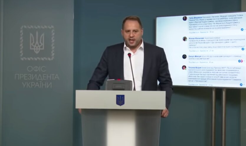 "глава Офиса Президента, Андрей Ермак, ""Слуги народа"""