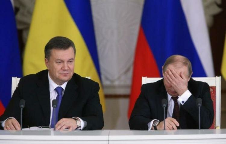 Янукович Путин
