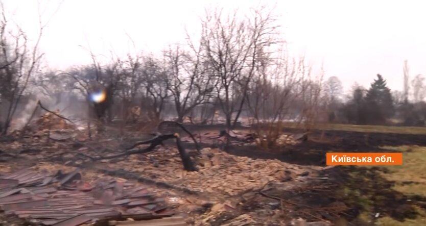 Пожар в Чернобыле, пожары в украине