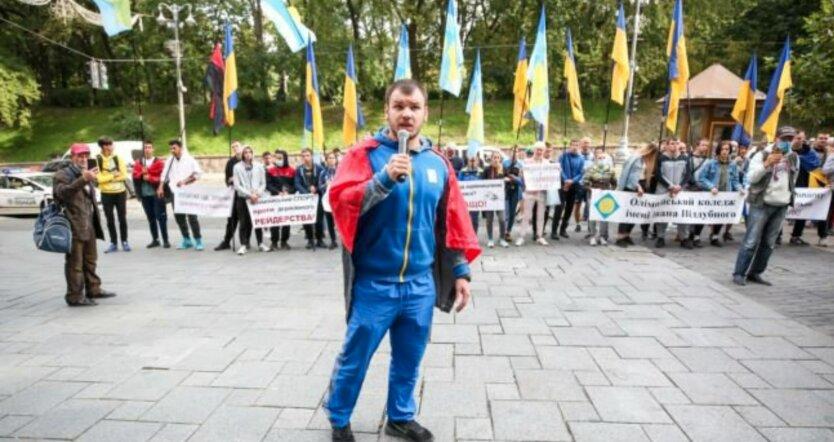 В Киеве произошли стычки с полицией на территории Олимпийского колледжа: реакция Кличко