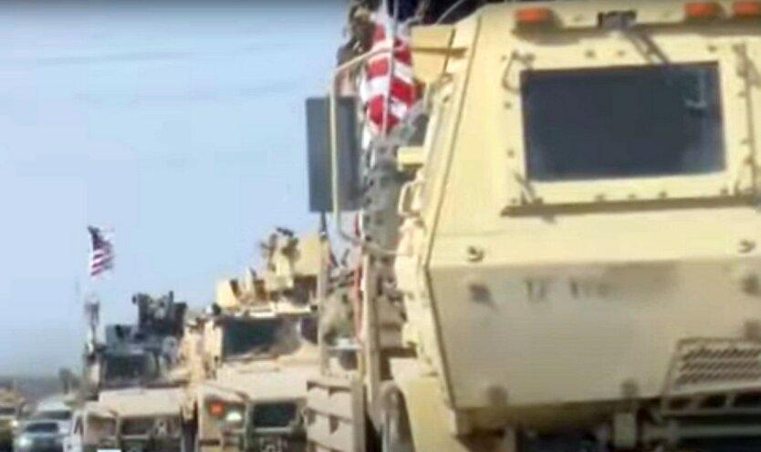 В Ираке прогремел взрыв рядом с военной колонной США