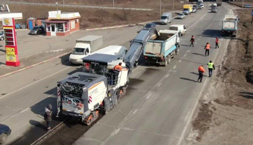 Укравтодор запустил большой проект под Харьковом на 1,8 миллиарда