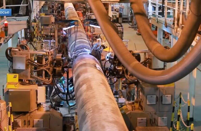 Северный поток, строительство, Газпром