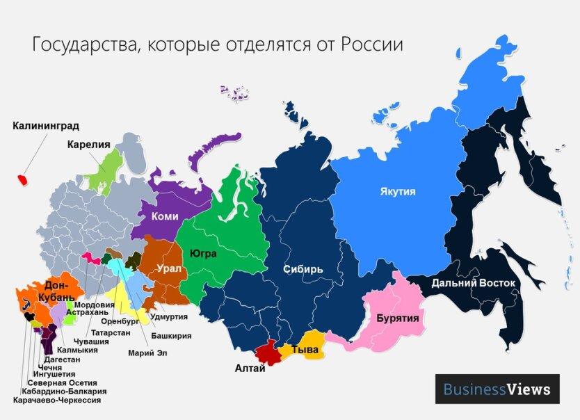 Государства после развала России