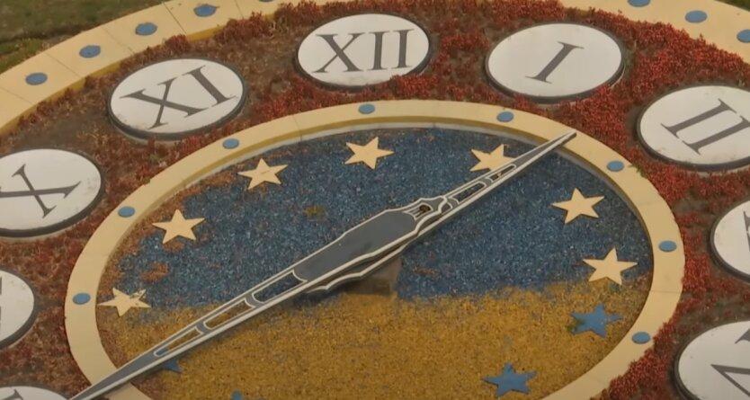 Перевод стрелок часов, переход на зимнее время, Украина