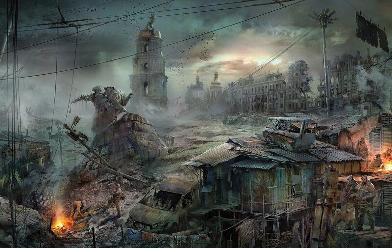 Киев постапокалпсис