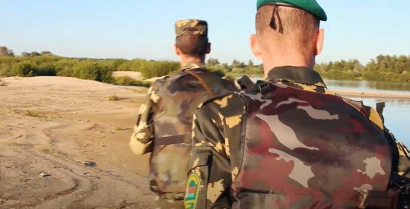 Белорусские пограничники
