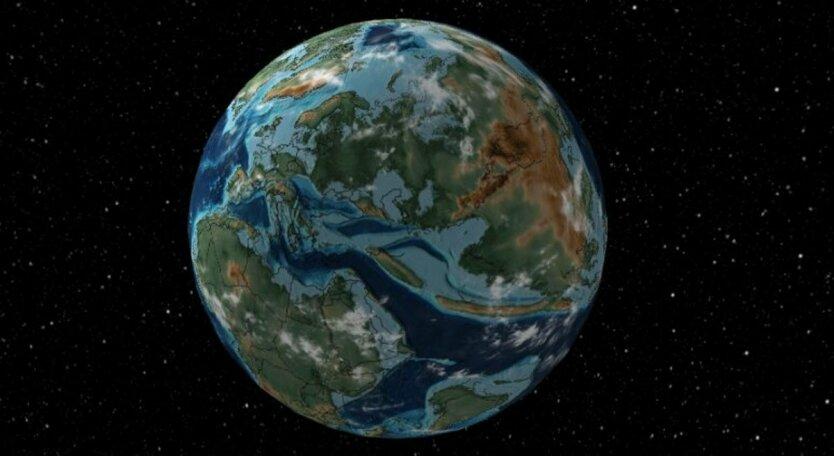 древняя Земля