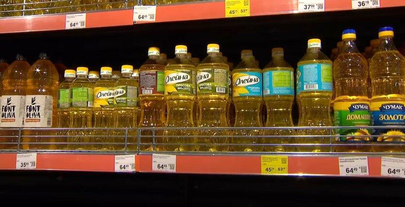 Подсолнечное масло в Украине, цены на масло, продукты