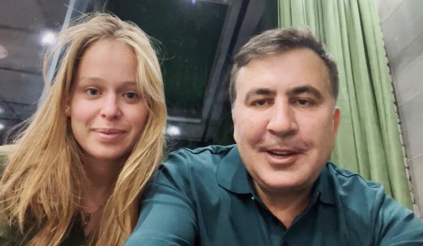 Елизавета Ясько, Михеил Саакашвили