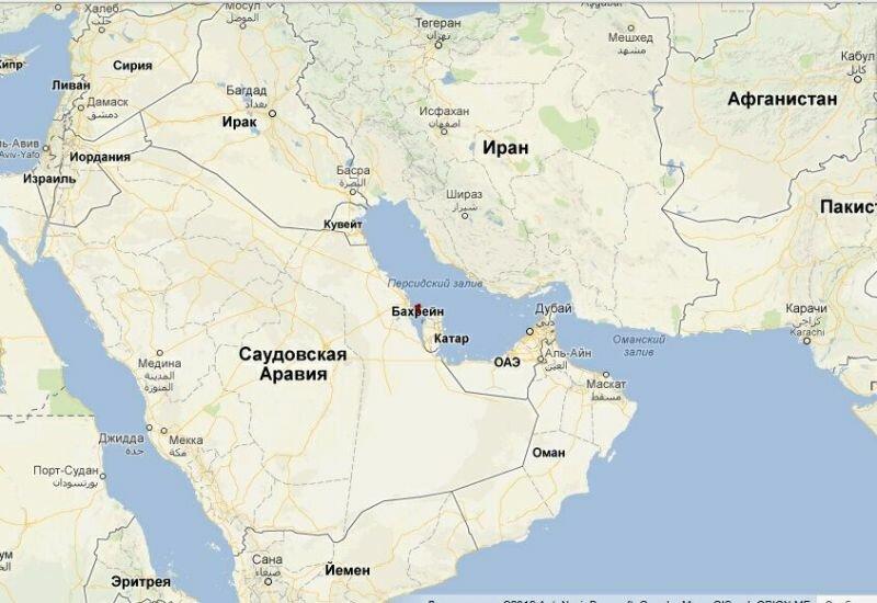 Саудовская Аравия_Бахрейн_Иран