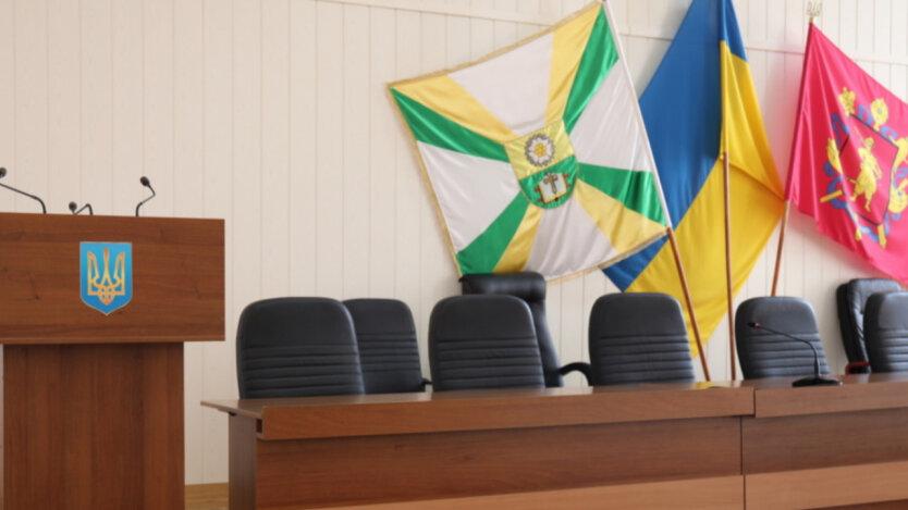 Местный совет в Мелитополе