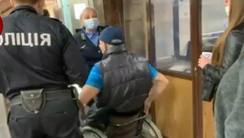 Инцидент в метро. Киев