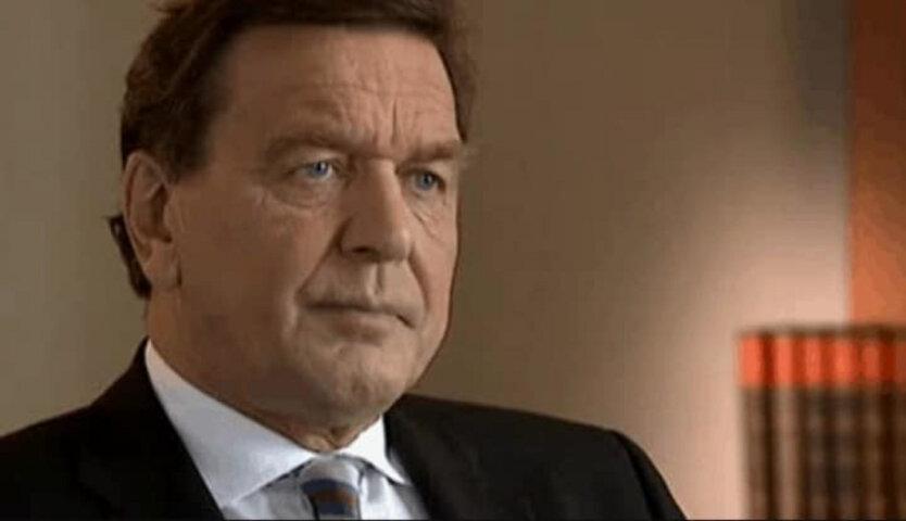 Герхард Шредер, санкции против России