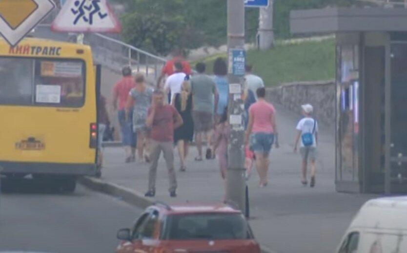 Киев снова «задыхается» из-за загрязнения воздуха