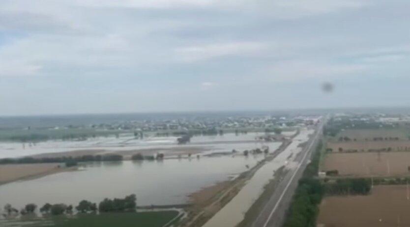 Наводнение в Узбекистане