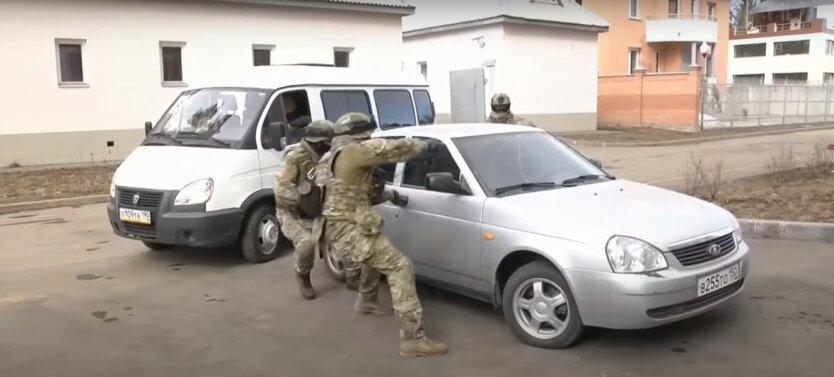 ФСБ,СБУ,полковник Ахмедов,ФСБ задержала украинскую разведгруппу,Крым,шпионаж в пользу СБУ