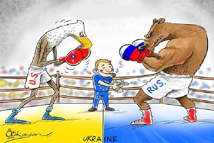 Украина США Россия ЕС