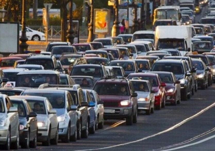 Интеллектуальная транспортная система в Киеве, пробки