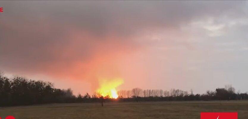 Взрыв под Лубнами , газопровод, ремонтные работы