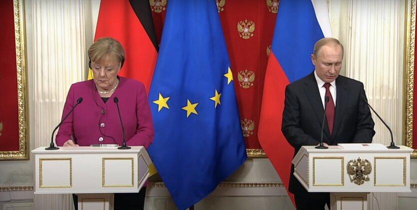 Владимир Путин,Ангела Меркель,разговор Путина и Меркель,обмен пленными, коронавирус в мире