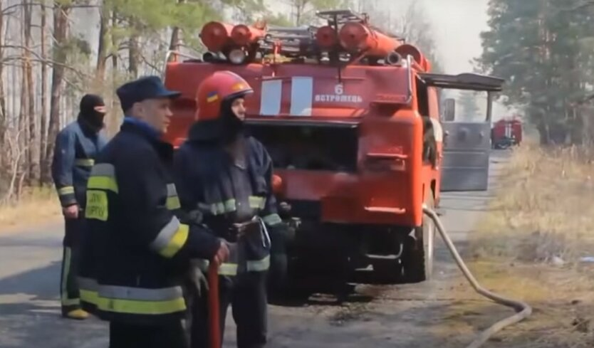 Спасатели отреагировали на возобновление пожаров в Чернобыле