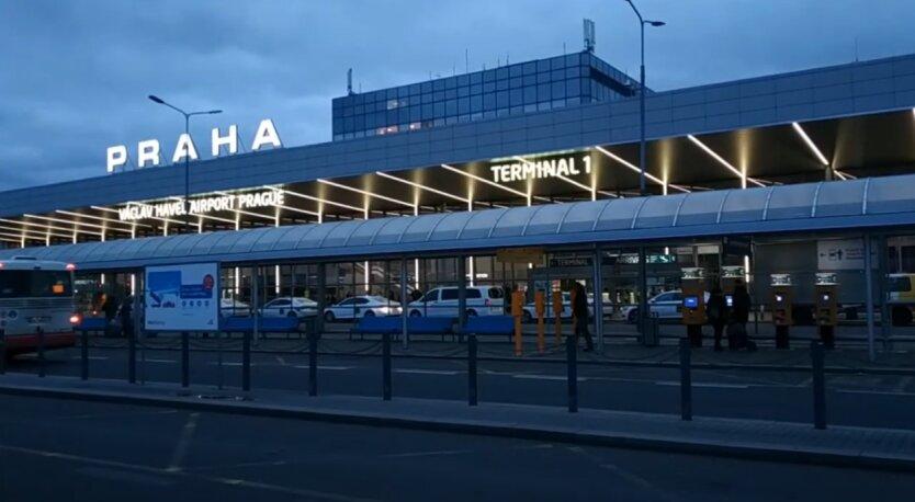 Аэропорт Праги, задержание, Крым