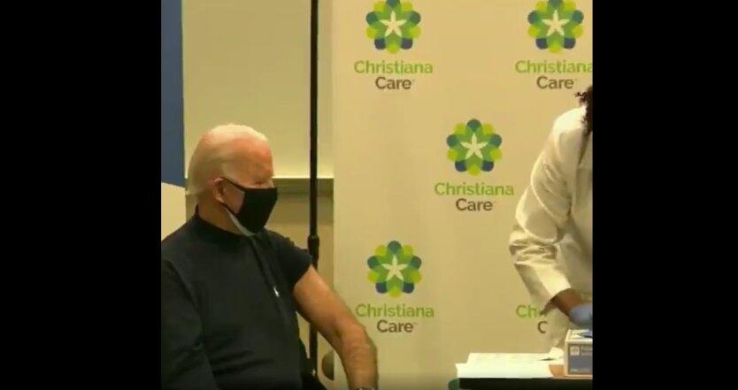 Джо Байден, коронавирус, вакцинация