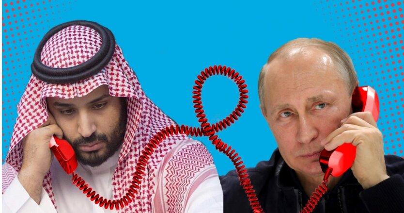 Путин и Мухаммед бен Салман кричали друг на друга, - Middle East Eye